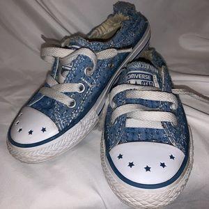 CONVERSE Blue Shoreline Sneakers